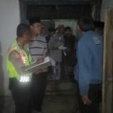Petugas kepolisian ketika melalukan olah TKP. (Foto: Istimewa)