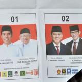 Surat suara Pemilu 2019 rusak (Merdeka.com)