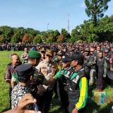 Hanya Ada Di Lumajang !! Hampir 6 Ribu Satgas Keamanan Desa Siap Amankan Pemilu
