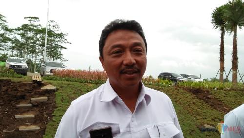 Dirut PT Jasa Marga Pandaan-Malang Agus Purnomo (Luqmanul Hakim/Malang Times)
