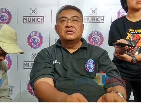 General Manager Arema FC, Ruddy Widodo (Hendra Saputra)