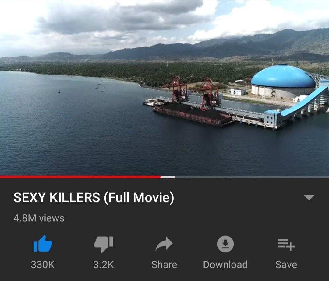 Screenshot film Sexy Killer di akun Watchdoc (Ist)
