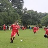 Skuat Arema FC ketika menjalani training center (Hendra Saputra)