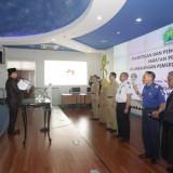Pelantikan dan pengambilan sumpah di lingkungan Pemerintah Kota Malang oleh Wali Kota Malang, Sutiaji (Pipit Anggraeni/MalangTIMES).