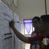 Proses perhitungan suara di Lapas Tulungagung (foto : Joko Pramono/jatimtimes)