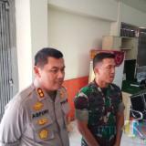 Kapolres Malang Kota, AKBP Asfuri SIK (kiri) dan Dandim 0833/Kota Malang Letkol Tommy Anderson (Anggara Sudiongko/MalangTIMES)