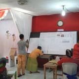 Suasana di TPS 23 Kelurahan Sukabumi, Kecamatan Mayangan, TPS tempat ketua DPC Partai Gerindra mencoblos (Agus Salam/Jatium TIMES))