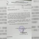Surat Pembatalan Tim Pemantauan Pemilu Kota Malang (Istimewa).
