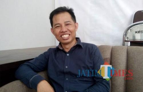 Ketua Bawaslu Kota Malang Alim Mustofa (Foto dok Malang Times)