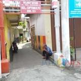 Lokasi tempat pembuangan bayi tepat di depan gang 2 (Anggara Sudiongko/MalangTIMES)