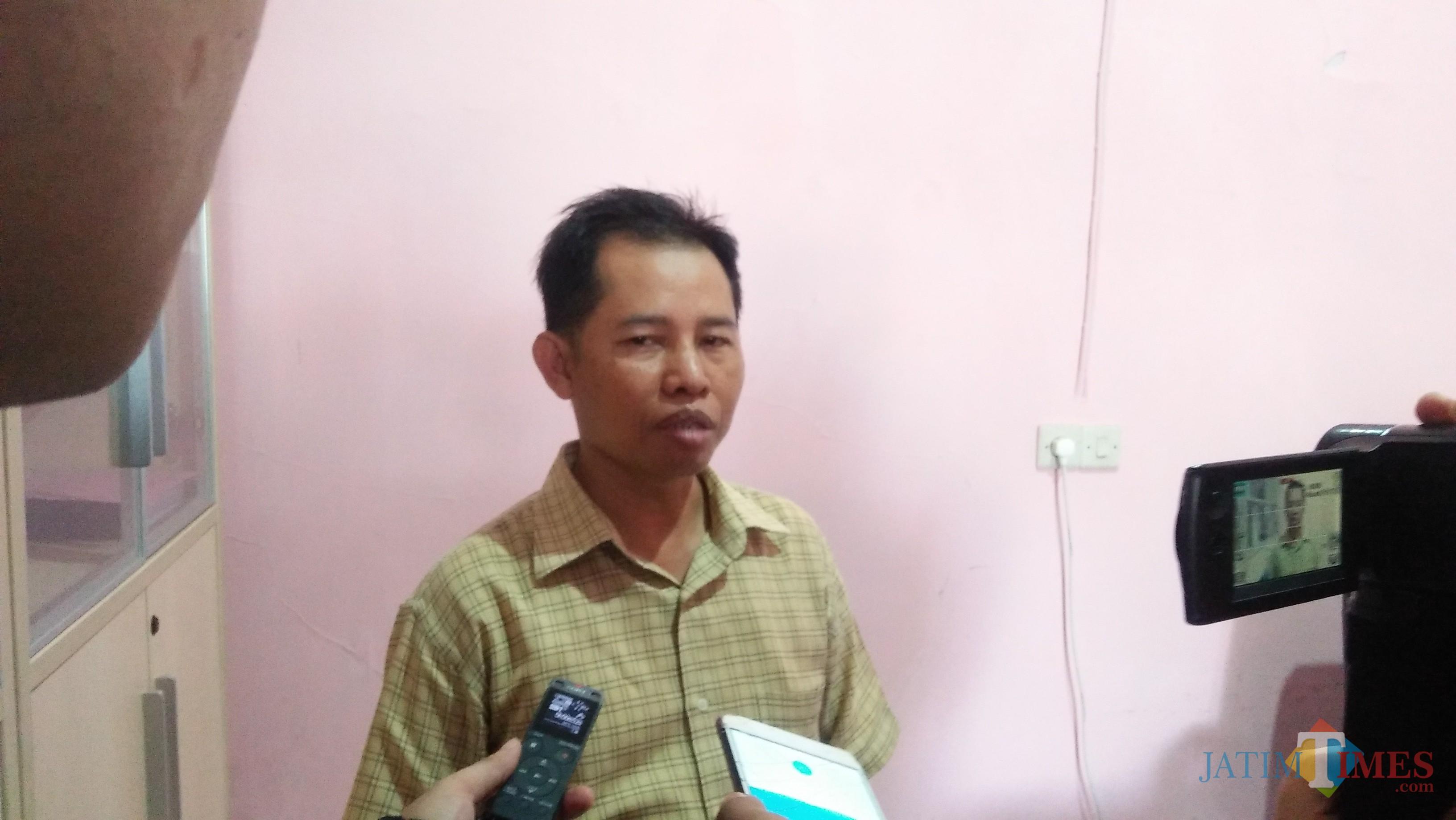 Ketua Bawaslu Kota Malang Alim Mustofa (Luqmanul Hakim/Malang Times)
