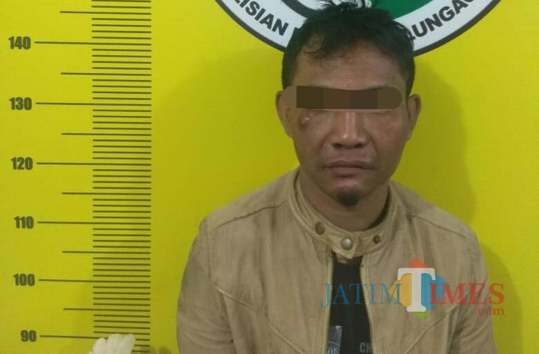 Sukarni Kancil saat di Polres Tulungagung / Foto : Dokpol / Tulungagung TIMES