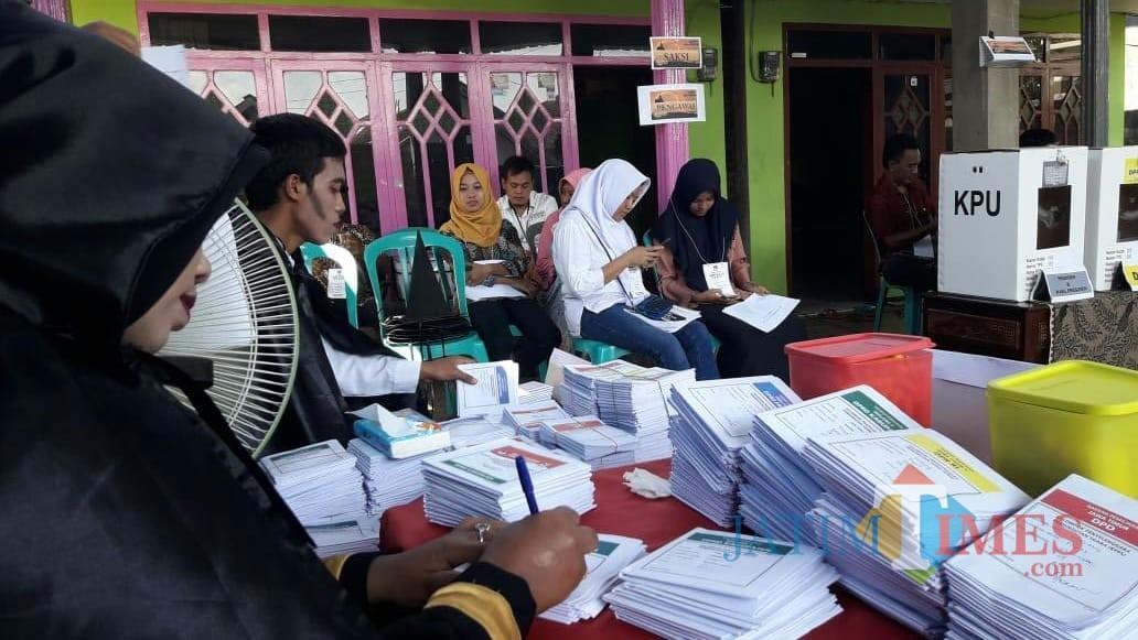 Ilustrasi penyelenggaraan pemilu 2019, Kabupaten Malang Foto : (Dokumen MalangTIMES)