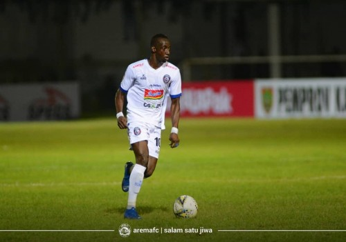 Playmaker Arema FC, Makan Konate (official Arema FC)