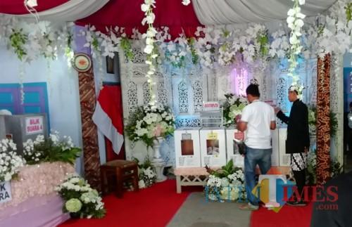 Hasil suara Pemilu 2019 via quick count disebut abal-abal oleh Prabowo. Lembaga survei tantang buka data. (Nana)