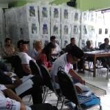 Suasana rekapitulasi hasil pemungutan suara di PPK Blimbing Kota Malang. (Foto: Nurlayla Ratri/MalangTIMES)