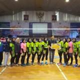 Juara 1, Tim Voli Putri UIN Maliki Malang Libas  Tim Voli Putri Unair Tiga Set Sekaligus