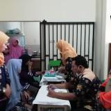 Baksos Pengobatan Gratis BKM Muslimat Kepanjen dan BMH Diserbu Warga
