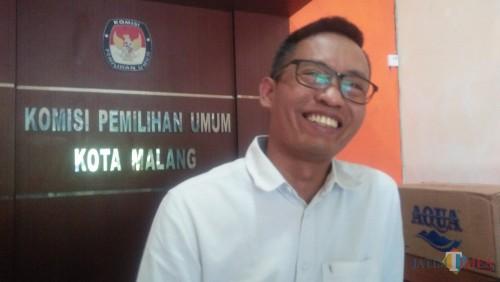 Ketua KPU kota Malang Zaenudin (Luqmanul Hakim/Malang Times)