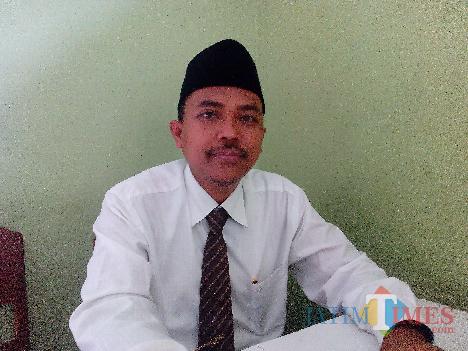 H. Akhmat ST, Ketua DPC PPP Kabupaten Lumajang (Foto : Moch. R. Abdul Fatah / Jatim TIMES)