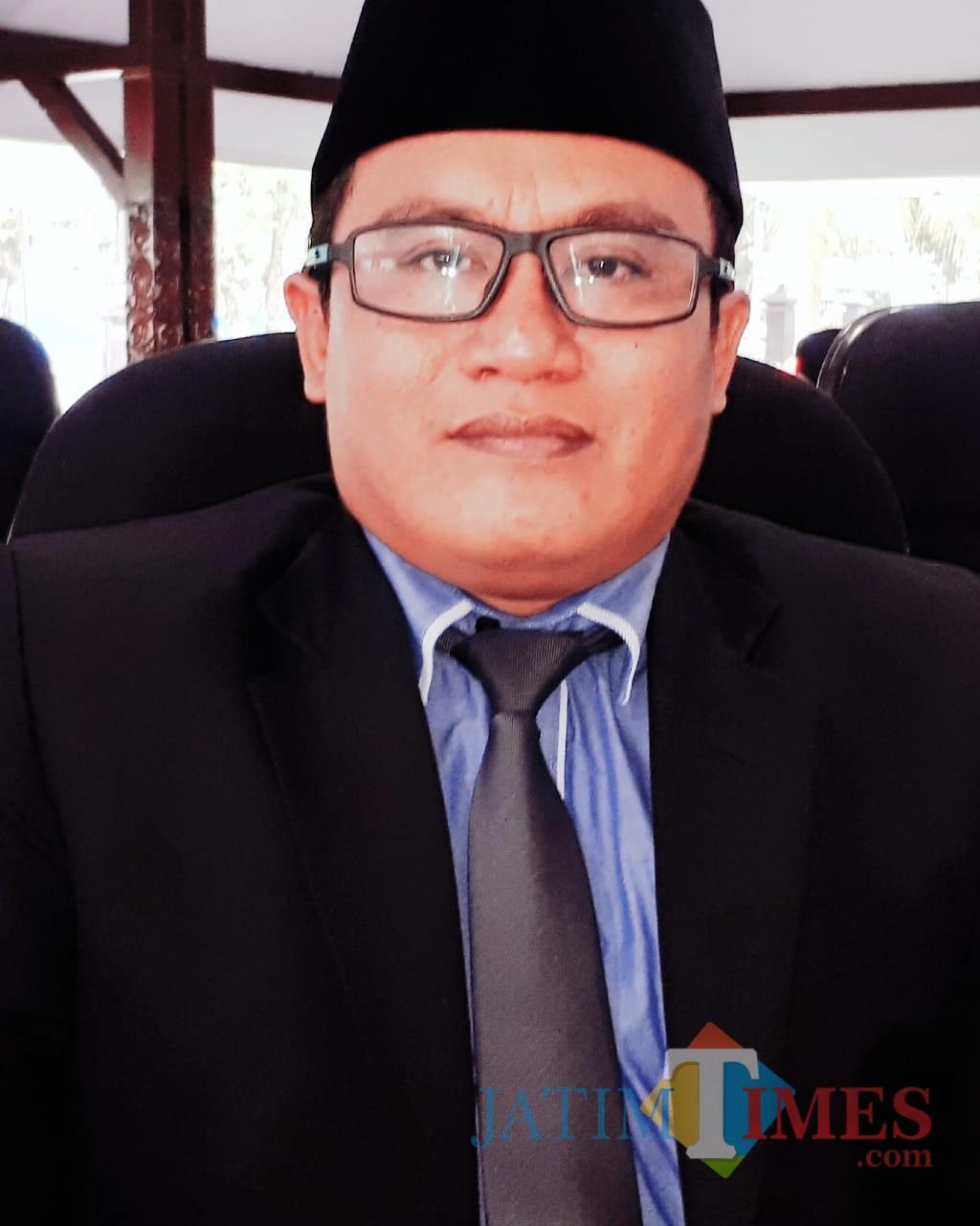H. Idris Marzuqi S.Pd, Bendahara DPC Partai Demokrat Lumajang (Foto : Moch. R. Abdul Fatah / Jatim TIMES)
