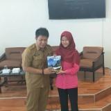 Made Arya Wedanthara Kepala Disparbud Kabupaten Malang setelah acara kuliah tamu di UNIBRAW Malang (Disparbud Kab Malang)