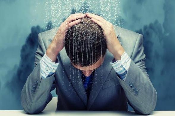 Ilustrasi caleg gagal yang mengalami gangguan stress (Ist)