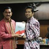 Kepala BNPT Komjen Pol Drs Suhardi Alius bersama Wagub Jatim Emil Dardak