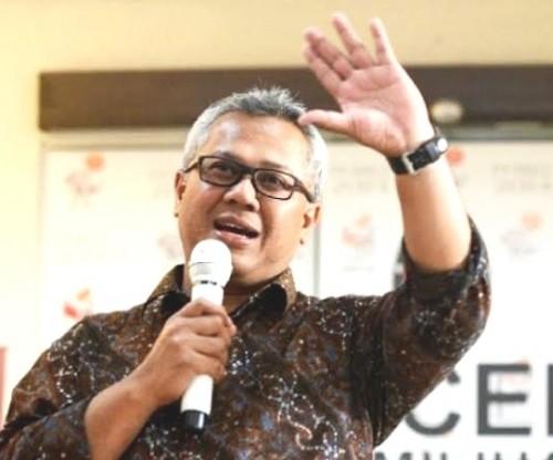 Ketua KPU Arief Budiman (Ist)