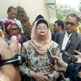 Ketua Komisi D DPRD Kota Malang, Aminah saat diwawancarai usai sidak di SMPN 15. (Foto: Imarotul Izzah/MalangTIMES)