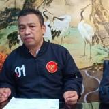 Ketua TKD Kota Malang Achmad Wanedi saat menemui awak media. (Foto: Dokumen MalangTIMES)