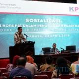 Koordinator Wilayah VI Koordinasi dan Supervisi (Korsup) Pencegahan KPK Asep Rahmat Suwandha