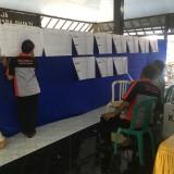 Penghitungan suara pemilu di Kabupaten Malang. (Foto : Ashaq Lupito / MalangTIMES)