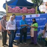Stabilisasi Harga Bawang Putih di Kota Malang, Operasi Pasar Dilakukan, Tak Sampai Sejam Bawang Putih Impor Ludes