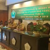 Suasana saat monev OPD Kota Malang oleh Diskominfo. (Disperkim)