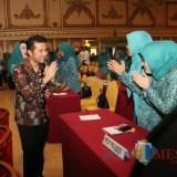 Wagub Jatim saat membuka rapat koordinasi Tim Penggerak PKK Provinsi Jatim dan kabupaten/kota se-Jawa Timur tahun 2019 di Hotel Utami, Sidoarjo, Rabu (24/04).