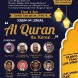 Tarhib Ramadhan 'Kaum Milenial, Alquran itu Keren' Akan Membuat Peserta Bangga dengan Islam dan Ajarannya