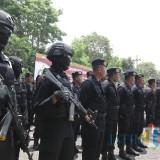 Amankan  Gudang Logistik KPU, Polres Malang Terjunkan 50 Personel Tambahan