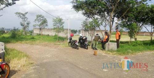Jalan Sultan Hasan Halim yang akan digunakan untuk jalur alternatif tembus Kota Batu (Luqmanul Hakim/Malang Times)
