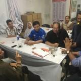 Para pimpinan parpol di Kabupaten Pasuruan.