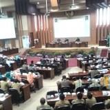 Rapat paripurna LKPJ Bupati Malang 2018. (Nana)