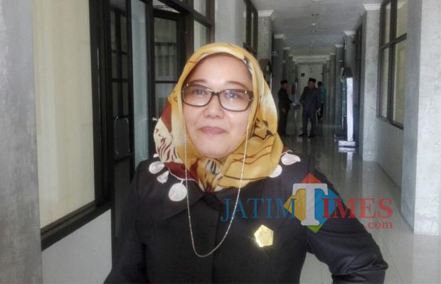 Wakil Ketua Komisi IV DPRD Kabupaten Blitar Susi Narulita.(Foto : Aunur Rofiq/BlitarTIMES)