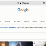 """Gara-Gara Mengetik """"Thanos""""pada Google Search, Mendadak Pencarian Hilang"""