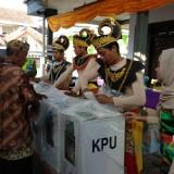 Pemungutan suara pada Pemilu 17 April 2019 di Kabupaten Malang. (Foto : Dokumen MalangTIMES)
