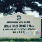 Kantor Satpol PP Kota Blitar (tampak depan).
