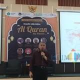 Dekan Fakultas MIPA Universitas Brawijaya Malang, Adi Susilo PhD saat menjadi pemateri dalam acara Tarkhib Ramadan 1440 H yang digelar di Auditorium Rumah Singgah Lantai 4 Gedung Pasca Sarjana UIN Malang (Pipit Anggraeni/MalangTIMES).