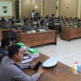 Polres Kediri melaksanakan Lat Pra Ops (Latihan Pra Operasi) Keselamatan Semeru 2019. (Foto: B. Setioko/JatimTIMES)