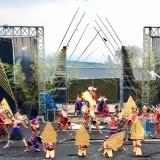 Ratusan Atraksi Kesenian dan Kebudayaan Tumpah Ruah di Festival Brantas 2019 Kelurahan Sisir