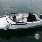 Speed boat yang ditemukan nelayan Pancer