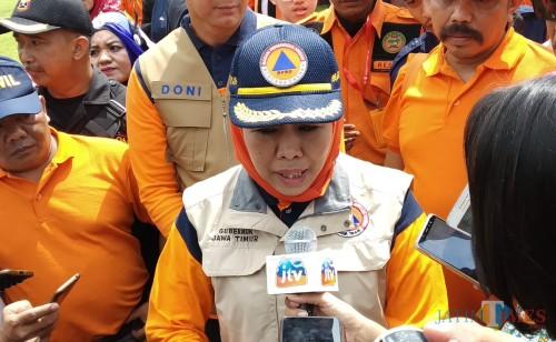 Gubernur Jatim, Khofifah Indar Parawansa (Pipit Anggraeni/MalangTIMES).